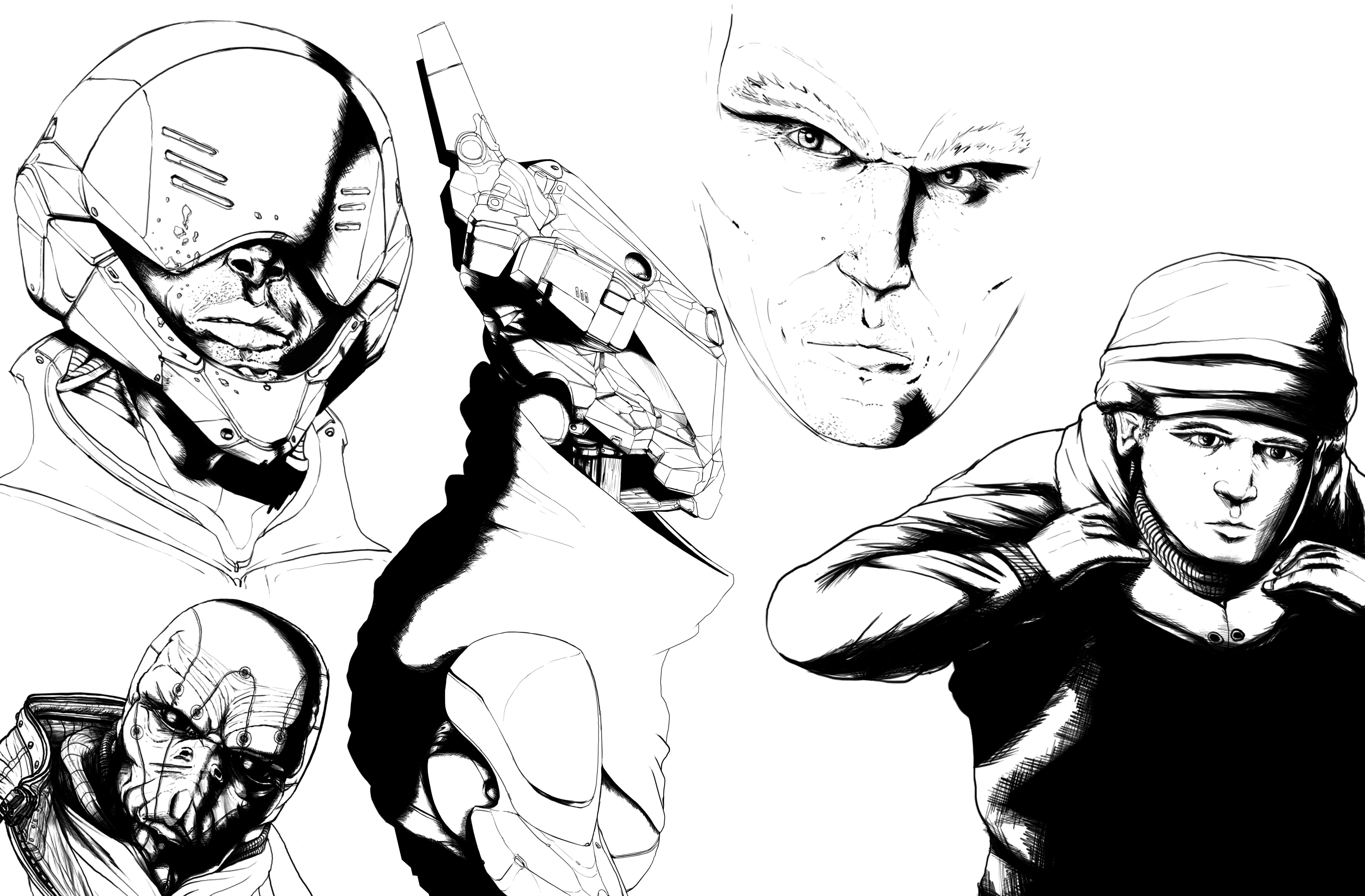 Stuff from my comic book.