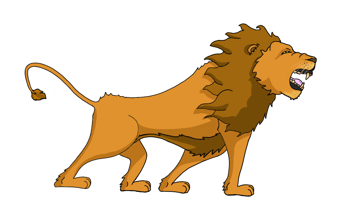 Lion - my first digital art.