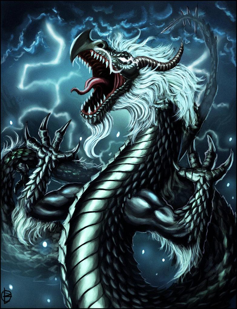 Storm dragon by TsN on Newgrounds