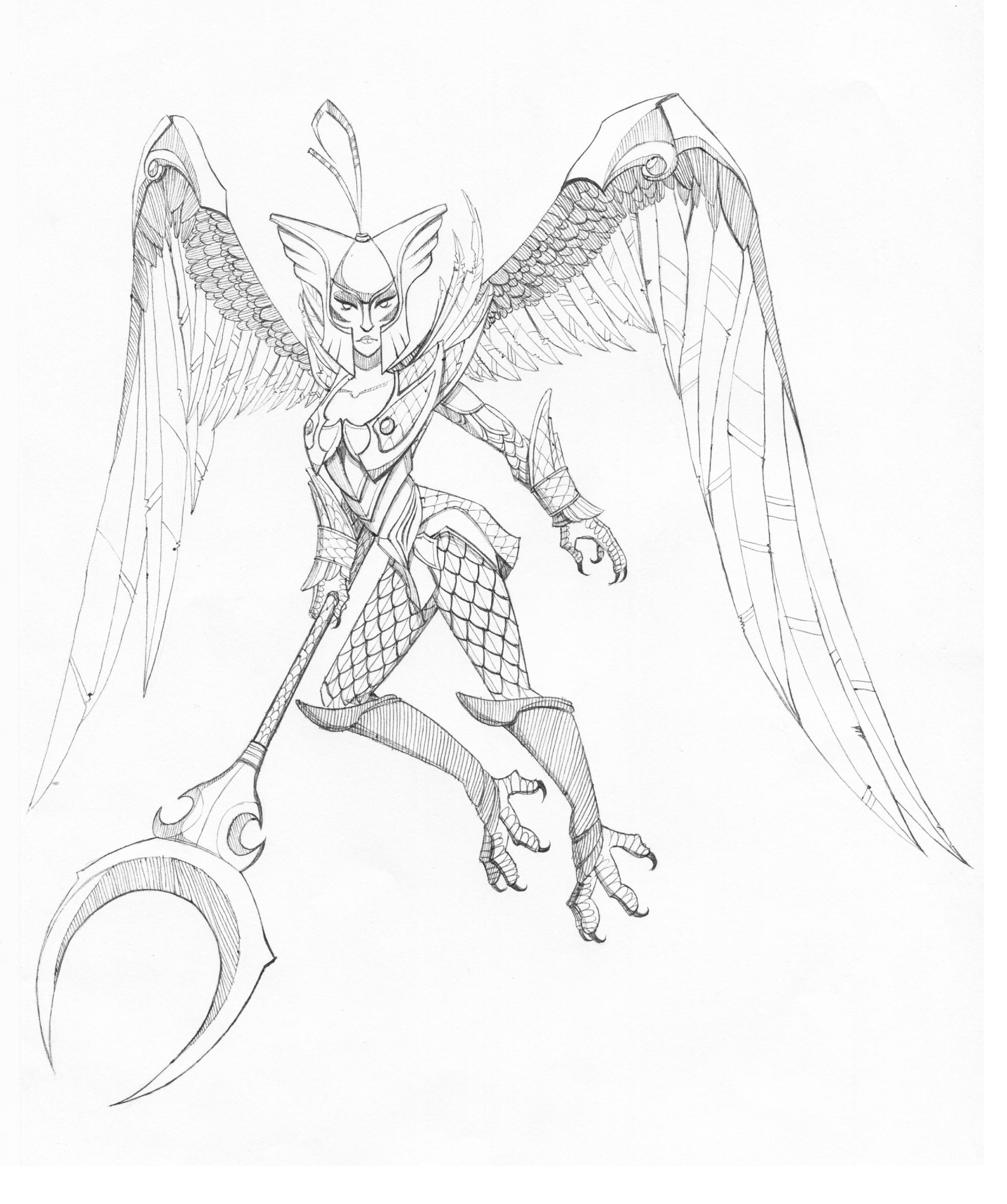 Skywrath mage (girl version)