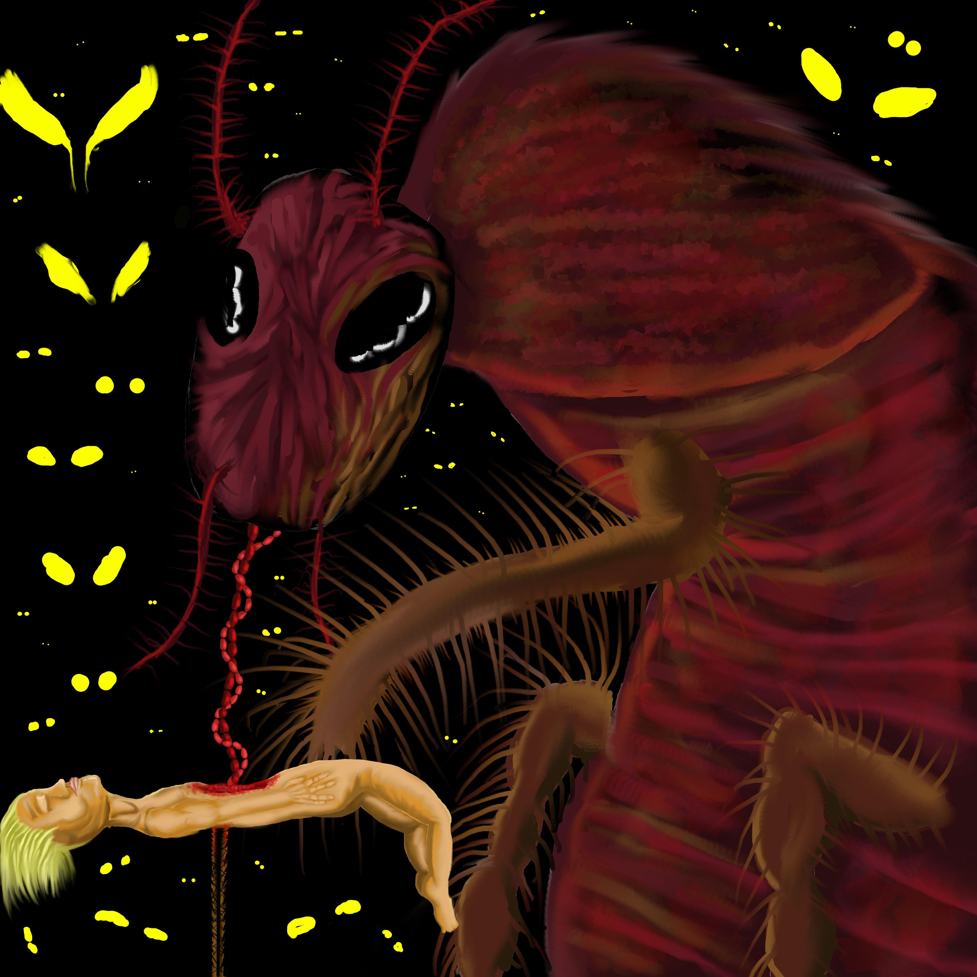 cockroach eats my intestines