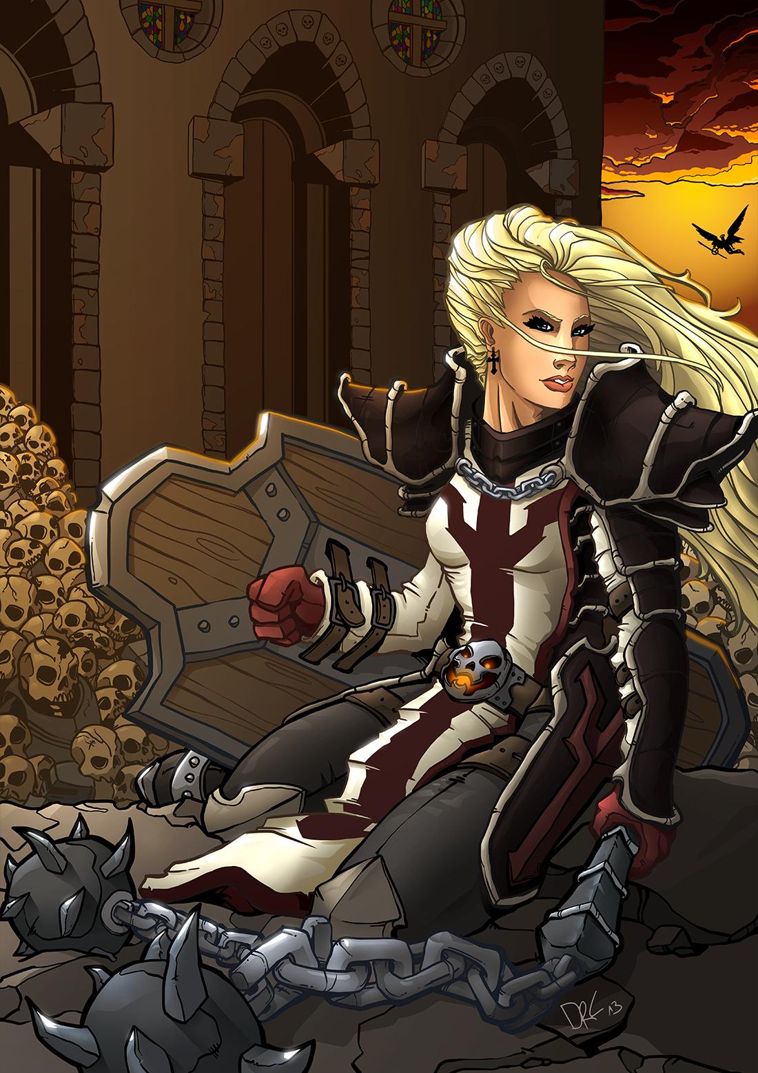 Female Crusader - Diablo III