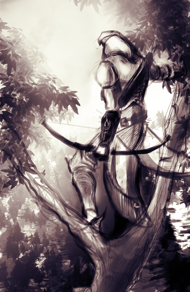 Assassin's Creed 3 sketch