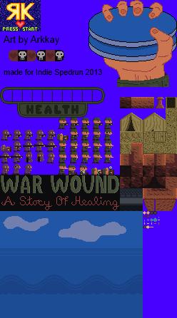War Wound Spritesheet