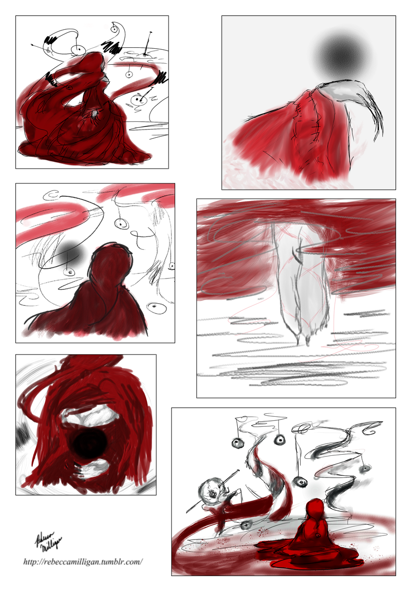 Red and the Black Wisp