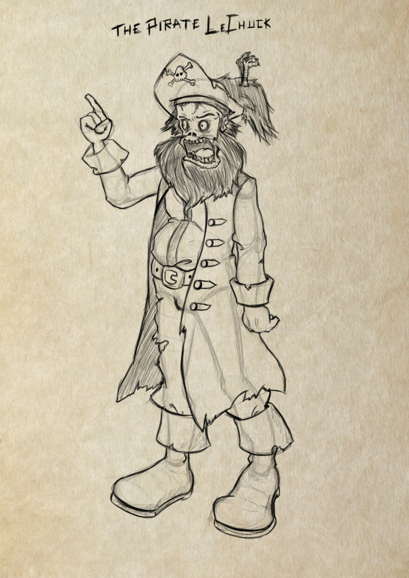 The pirate LeChuck