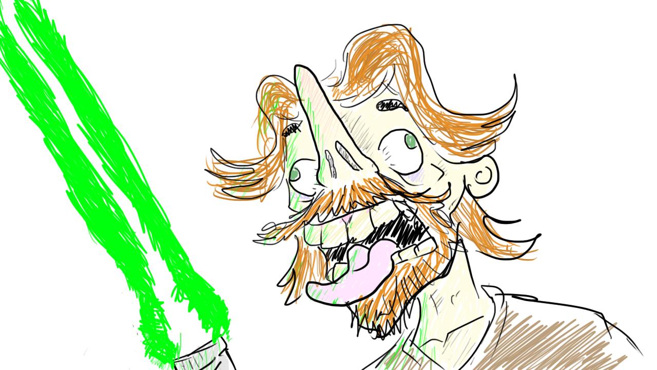 Jedi Self Portrait