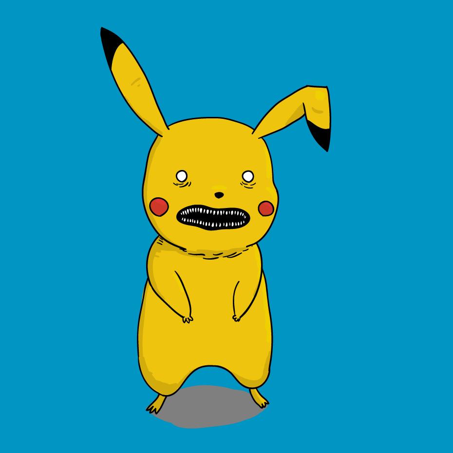 Creepy Pikachu