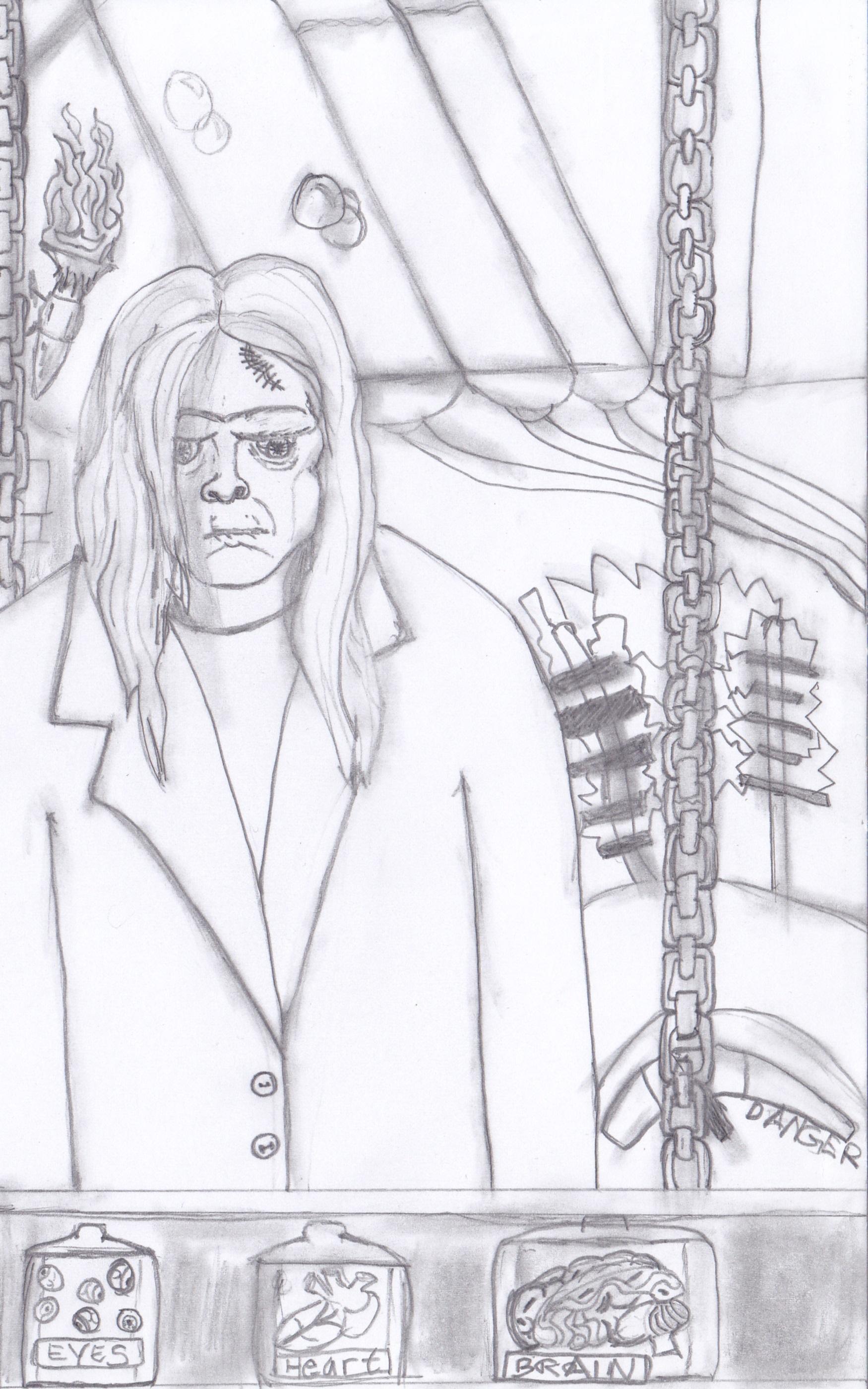 My verison of Frankenstein