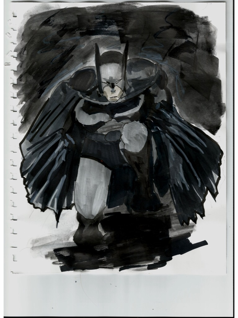 Rough Batman prelim