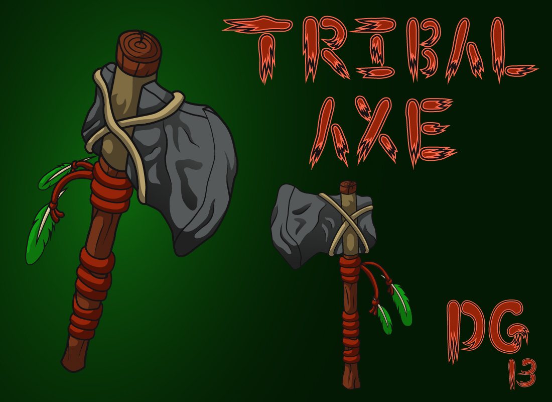 Tribal Axe