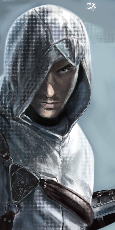 Altair Digital Painting