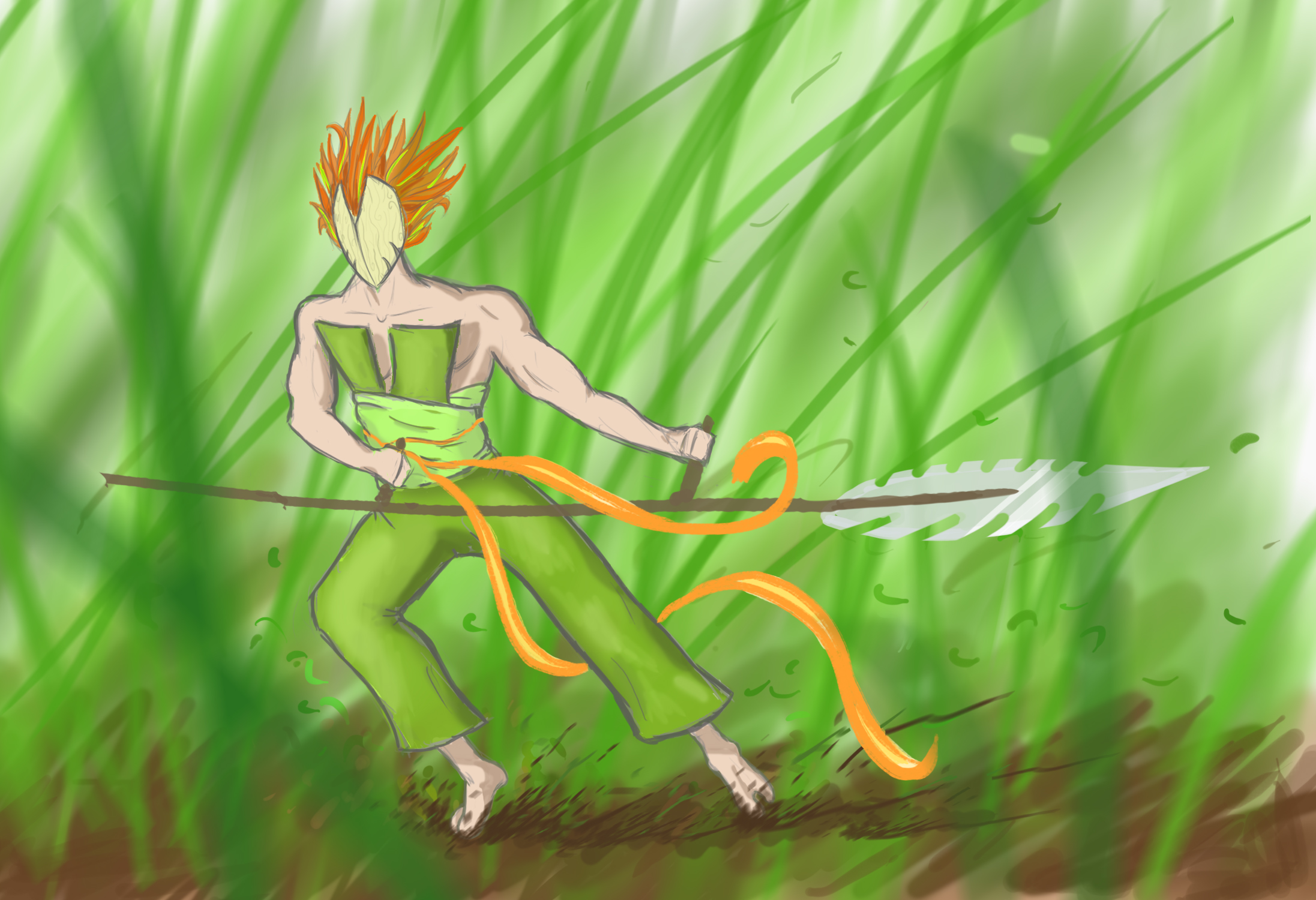 Grassdragon Hunter