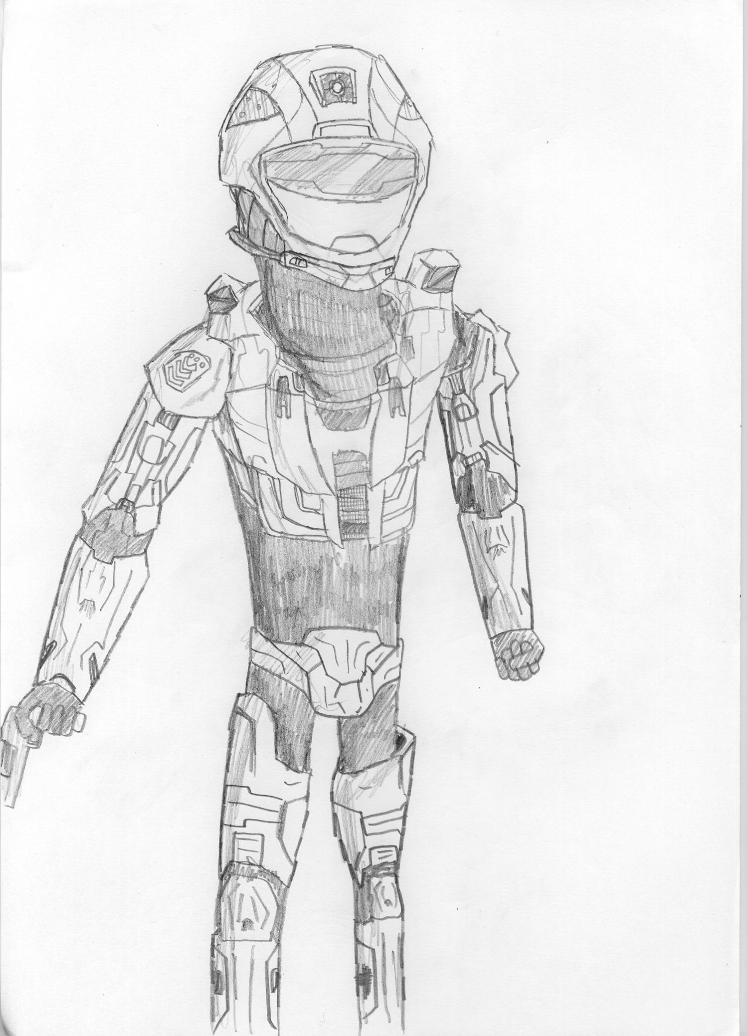 Halo 3 - Spartan Recon Armour