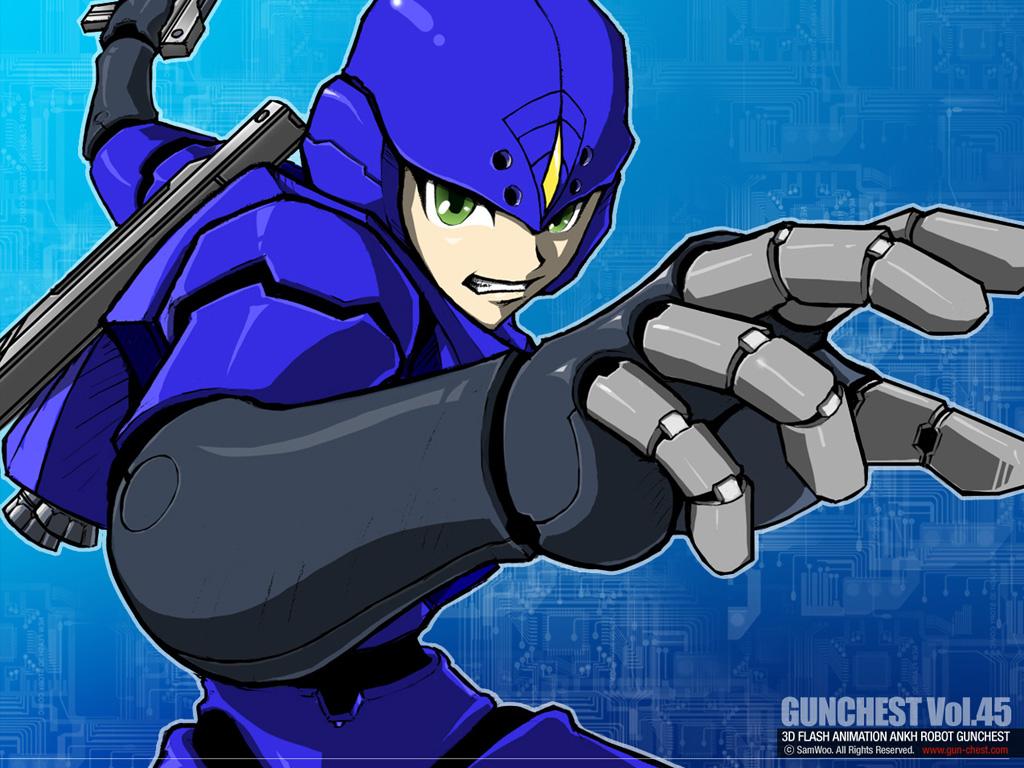 GunChest 45 2d illustration