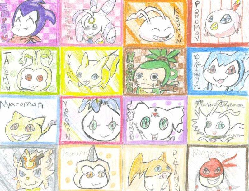 Kawaii Digimon