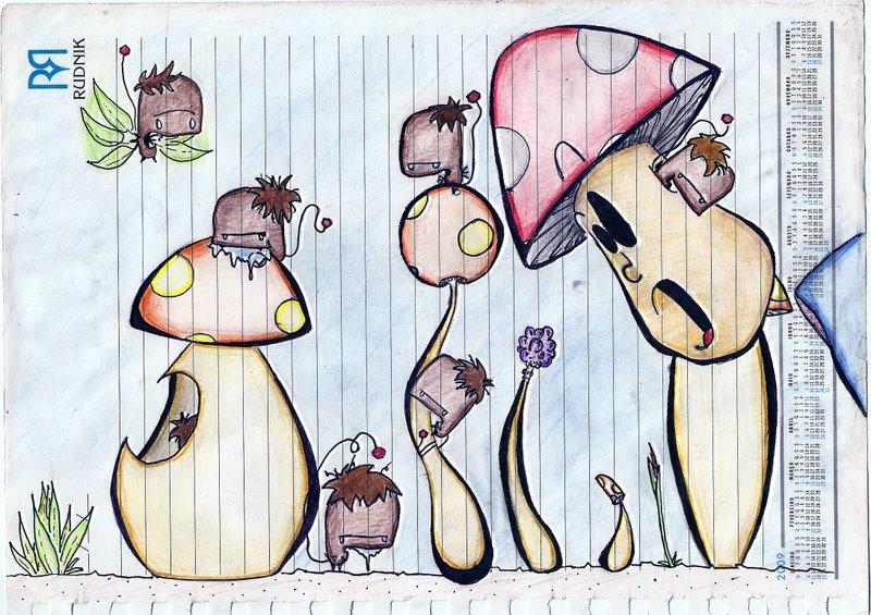 Mushroom City 5