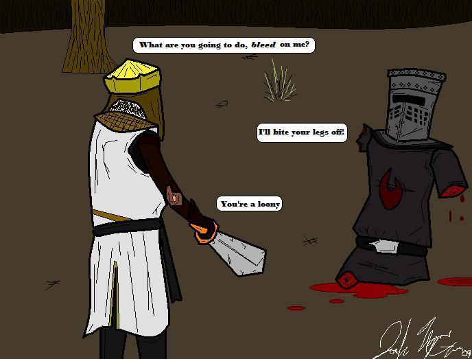 KingArthur and the BlackKnight