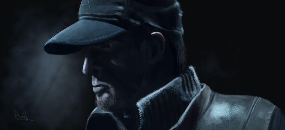 Watch Dogs Speed Paint