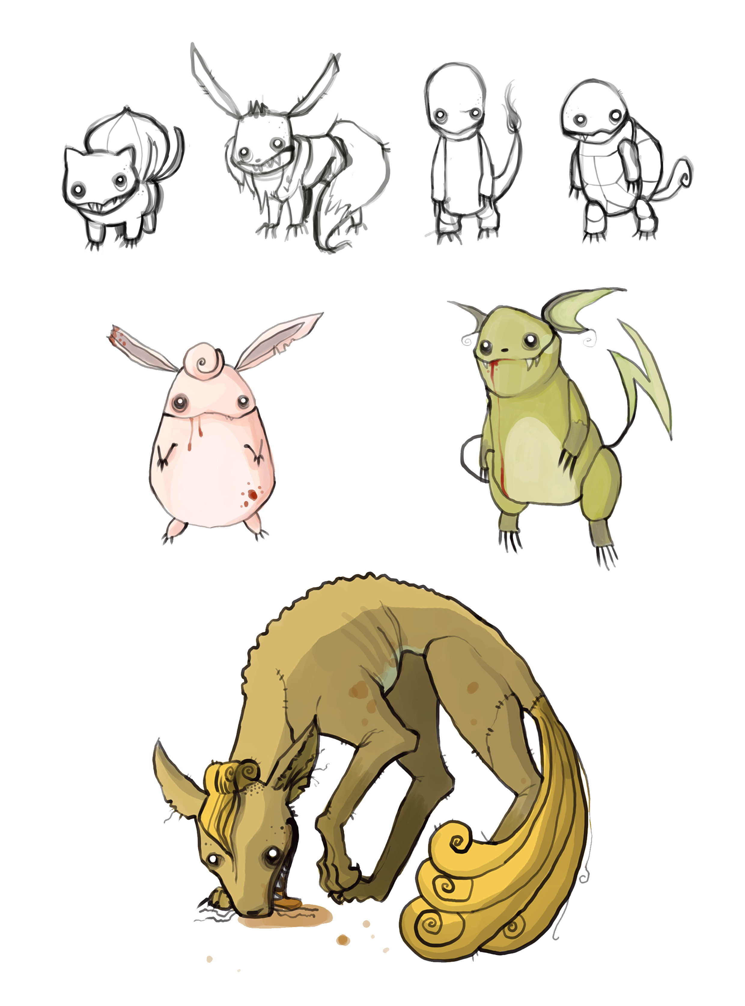 Zombie Pokemons