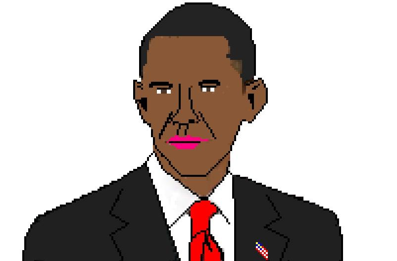 Barak Obama IIIustration