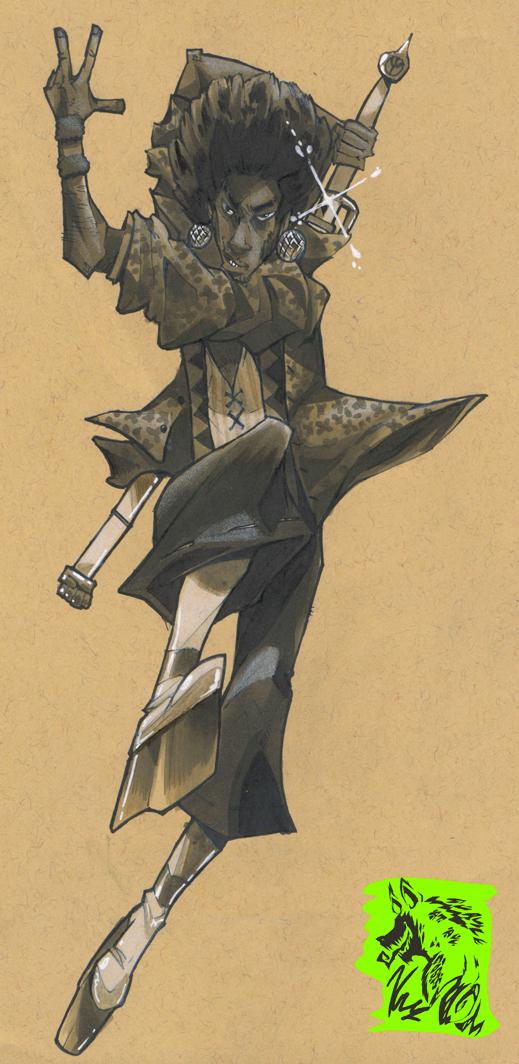 70's Samurai Champloo - Moogin