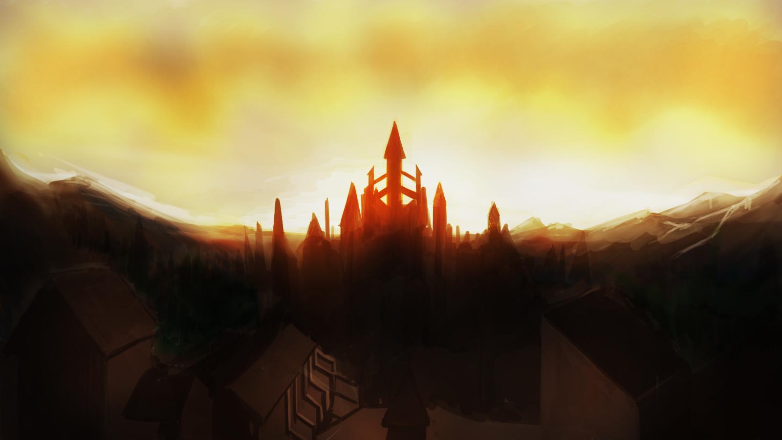 Anor Londo sunset