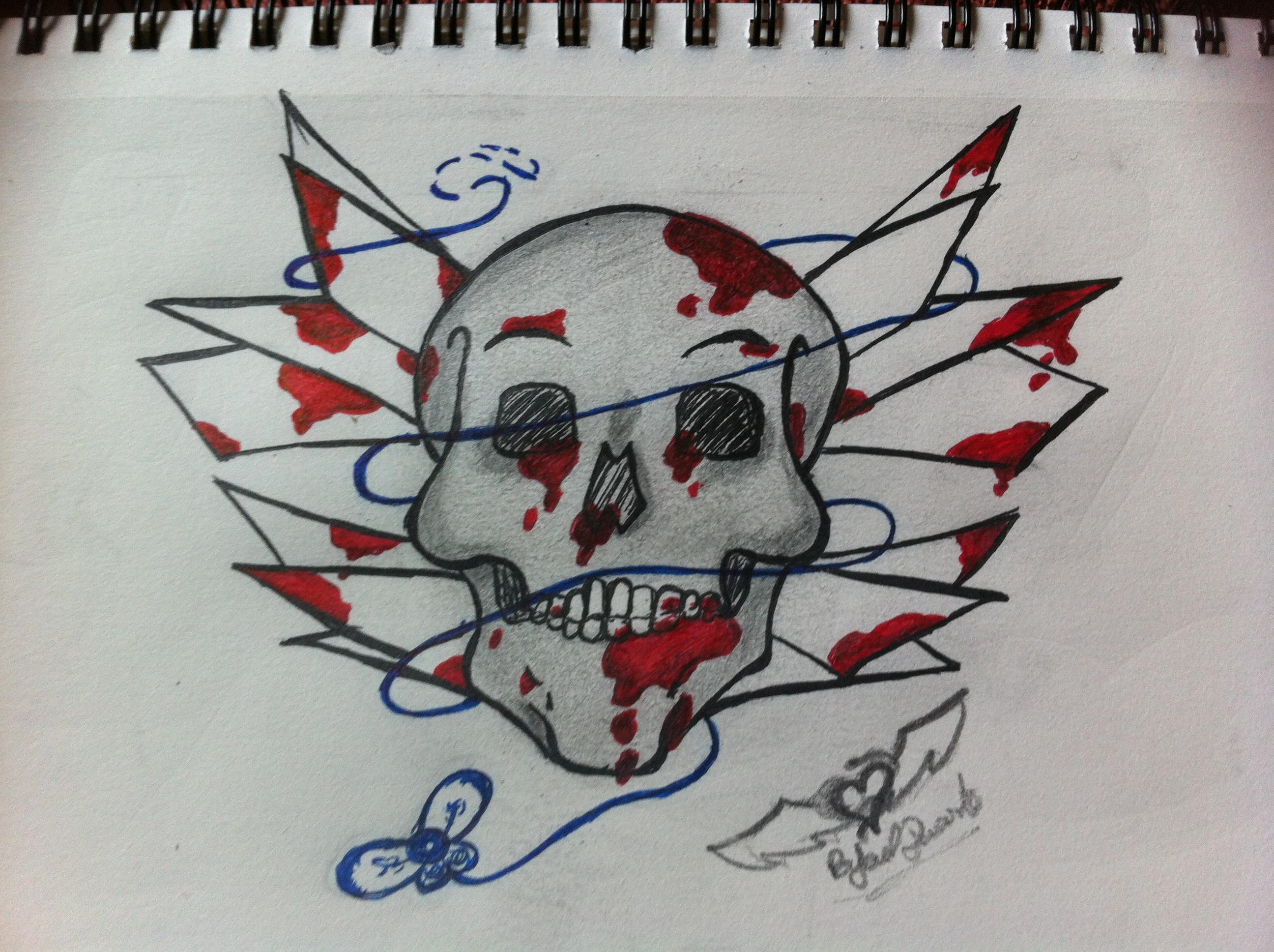 Deadly dead skull
