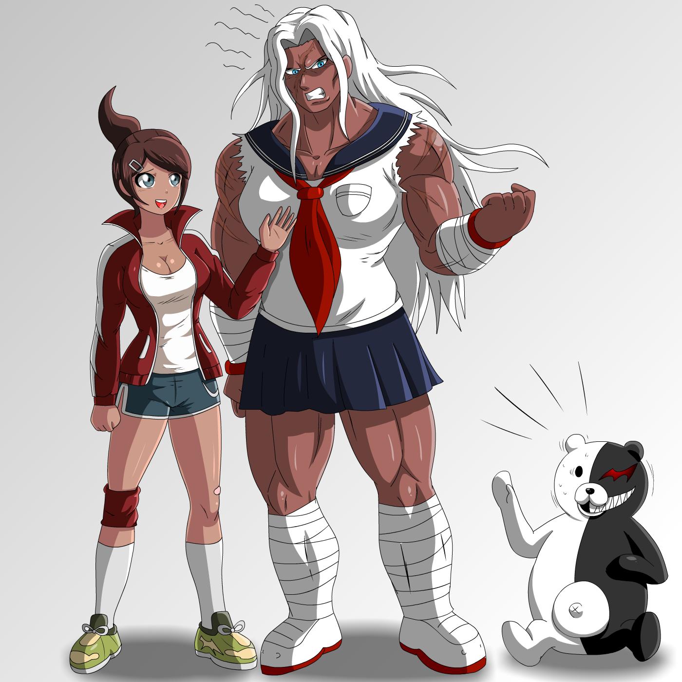 Asahina and oogami