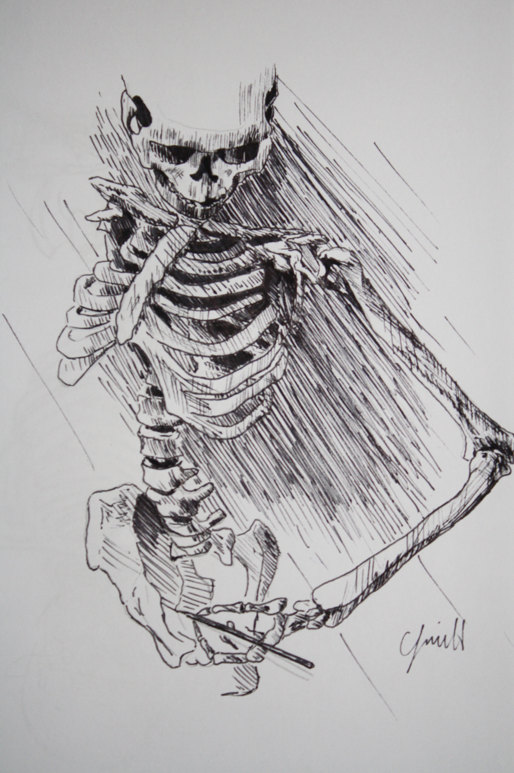 It's just a Skeleton