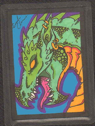Artist Trading Cards - Dragon