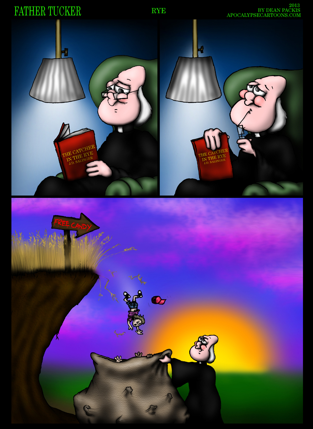 Father Tucker comic 009