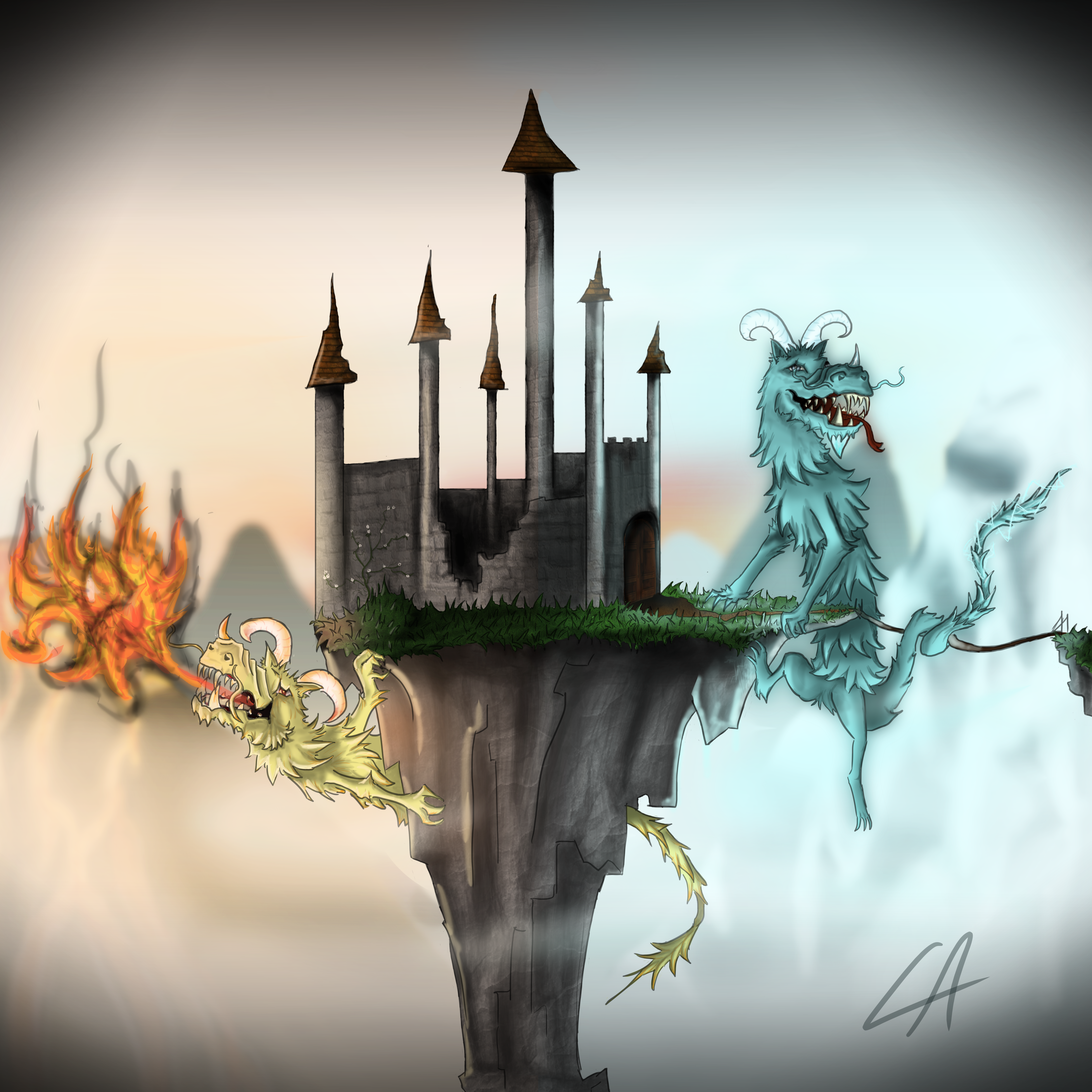 Guardians of Elemental Keep