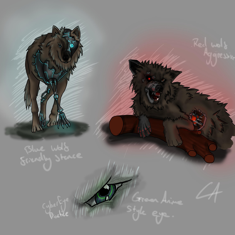 Wolf Cyborgs