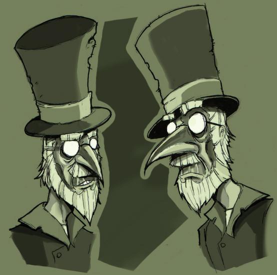 Sketch - Victorian Guy