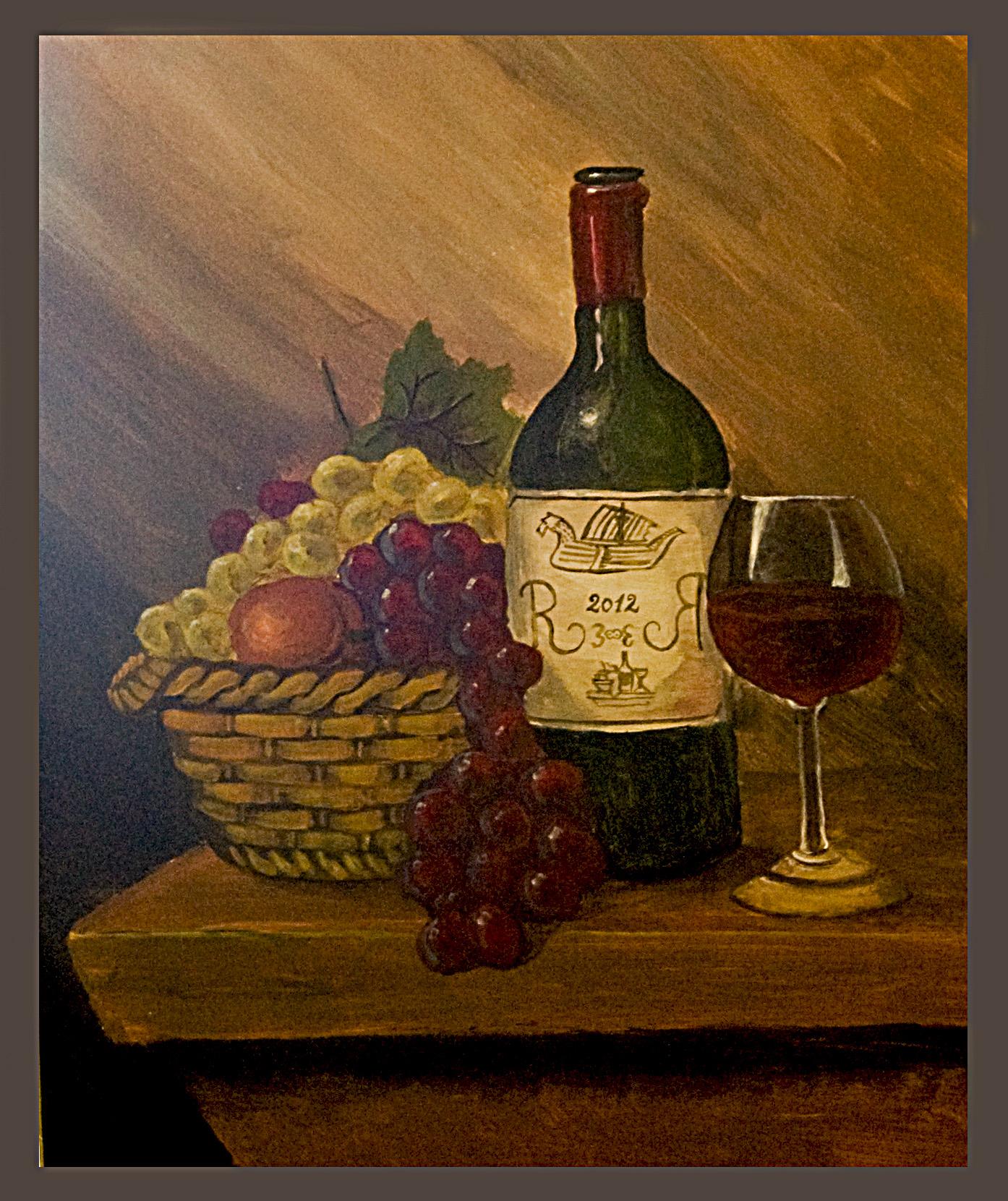 Still nature_wine