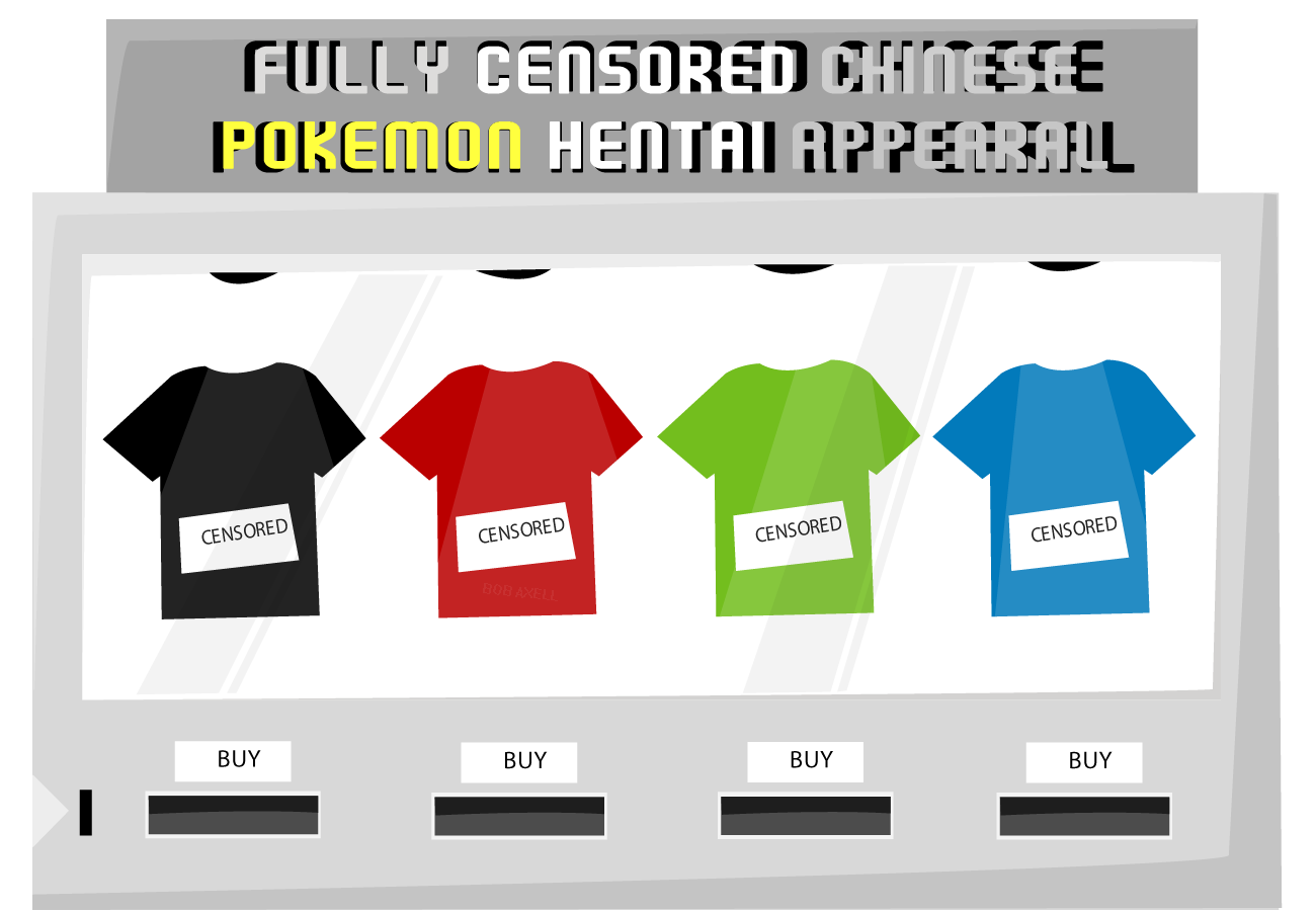 Censrd Pokemon Hentai Apparel