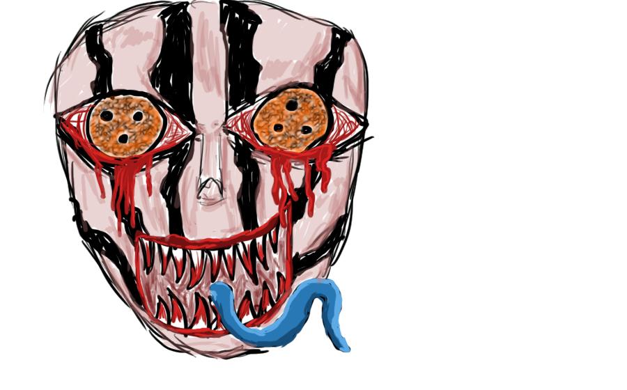 Creepy asylum man