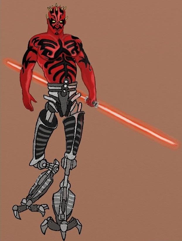 Darth Maul Cyborg