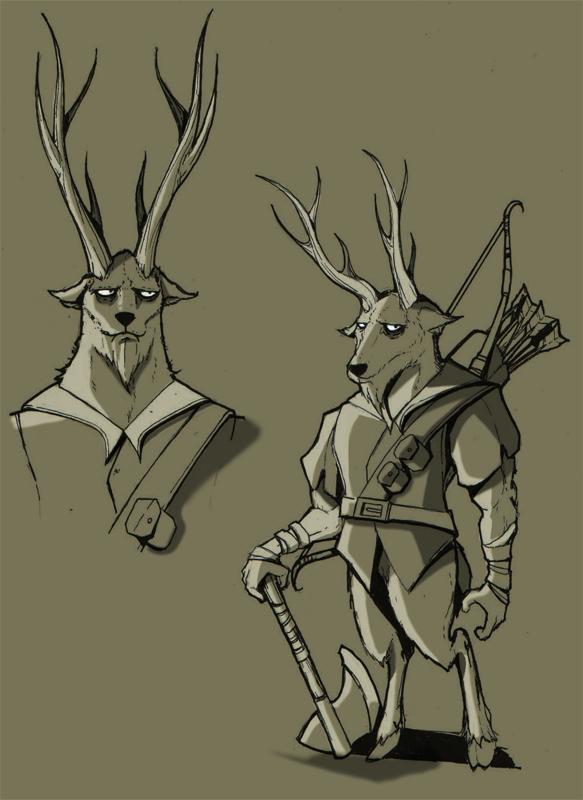 Kordik character concept