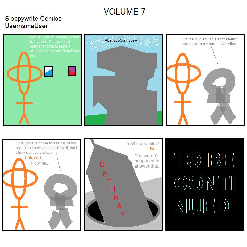 Sloppywrite Comics Vol. 7