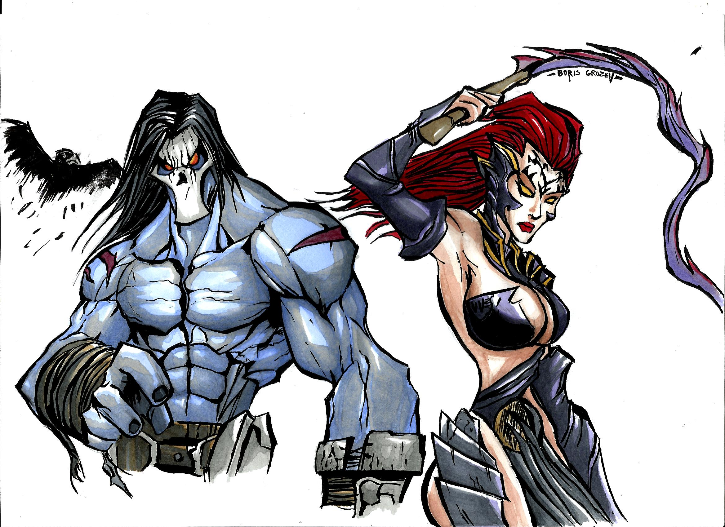 DARKSIDERS DEATH'N FURY