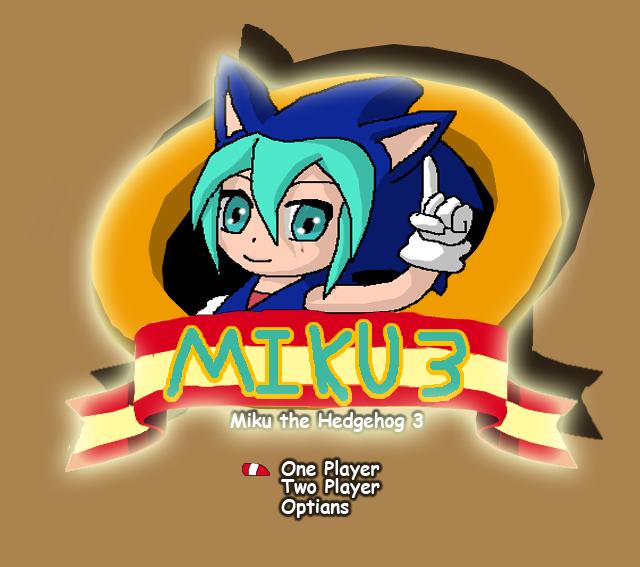 Miku the Hedgehog 3