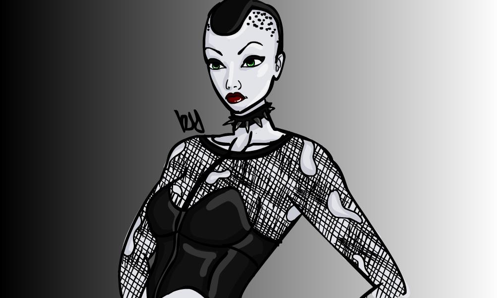 Gothic Girl 3