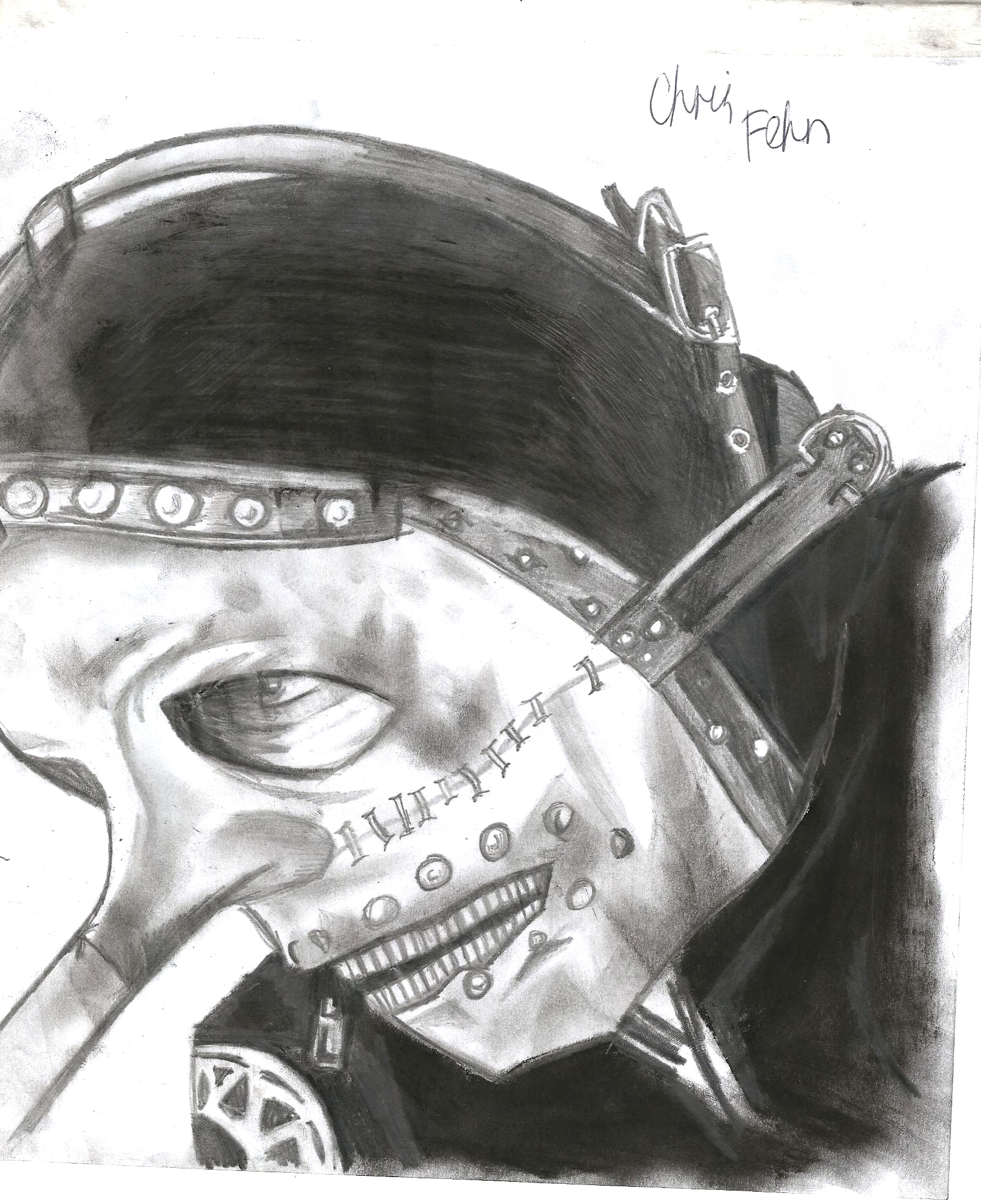 Chris Fehn Mask