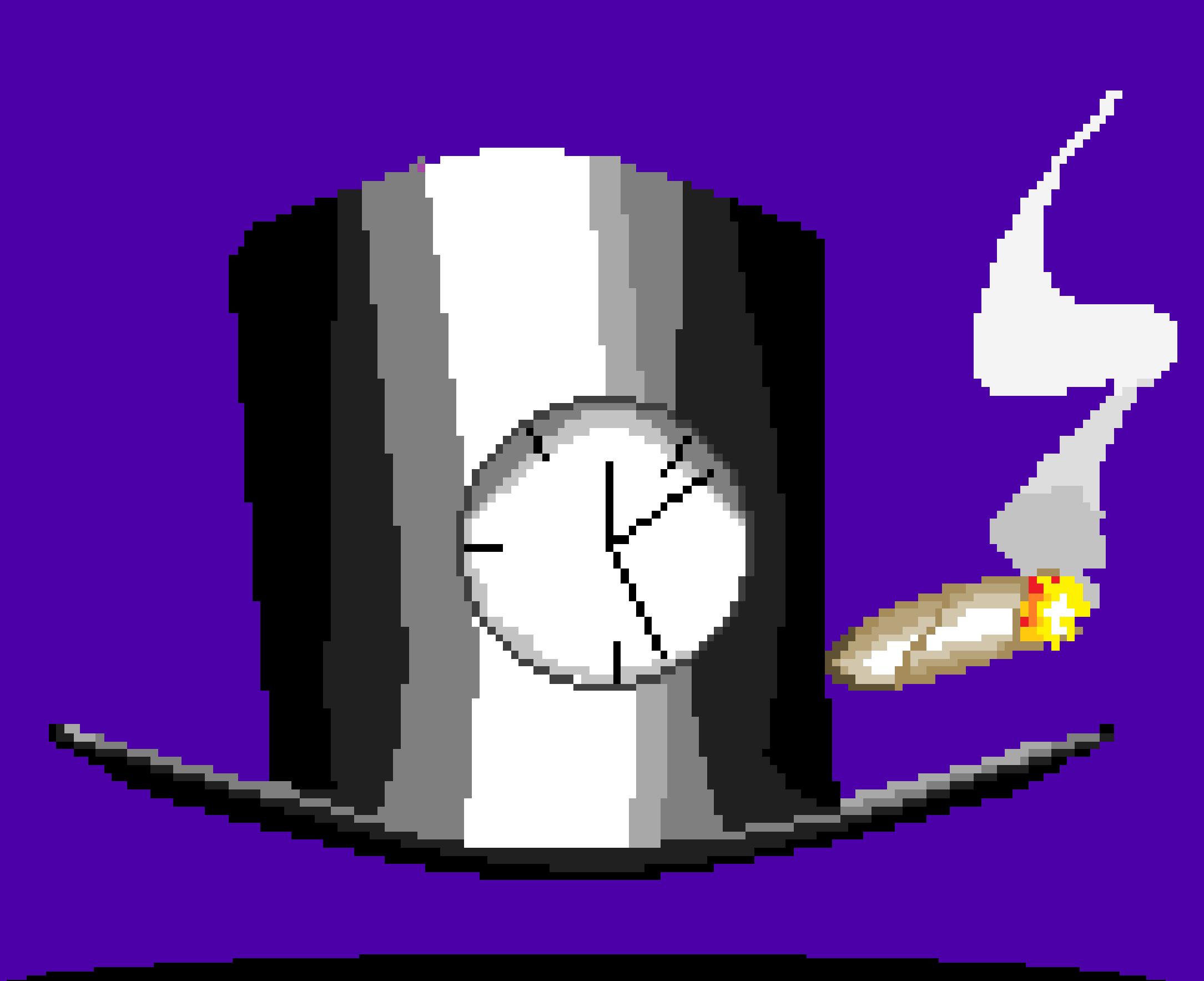 gentleman clock