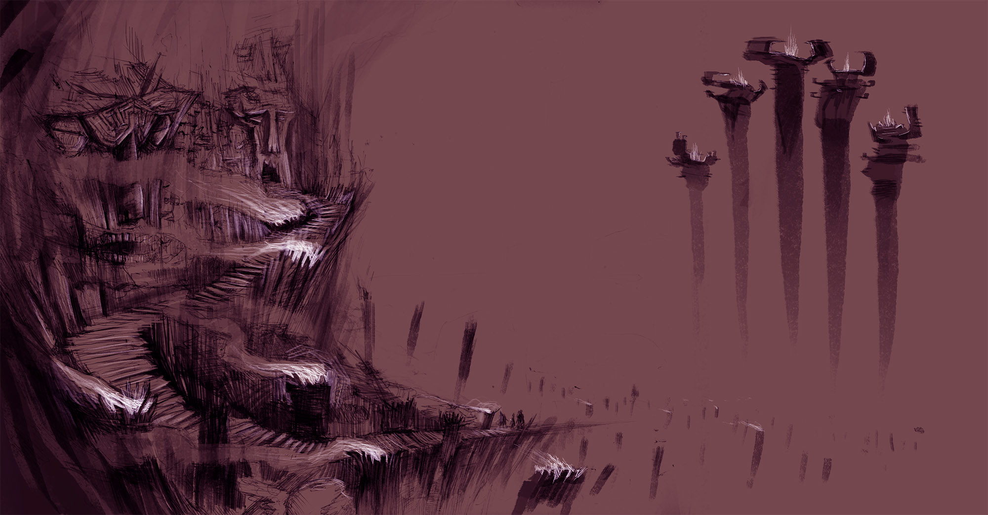 Ancient environment concept