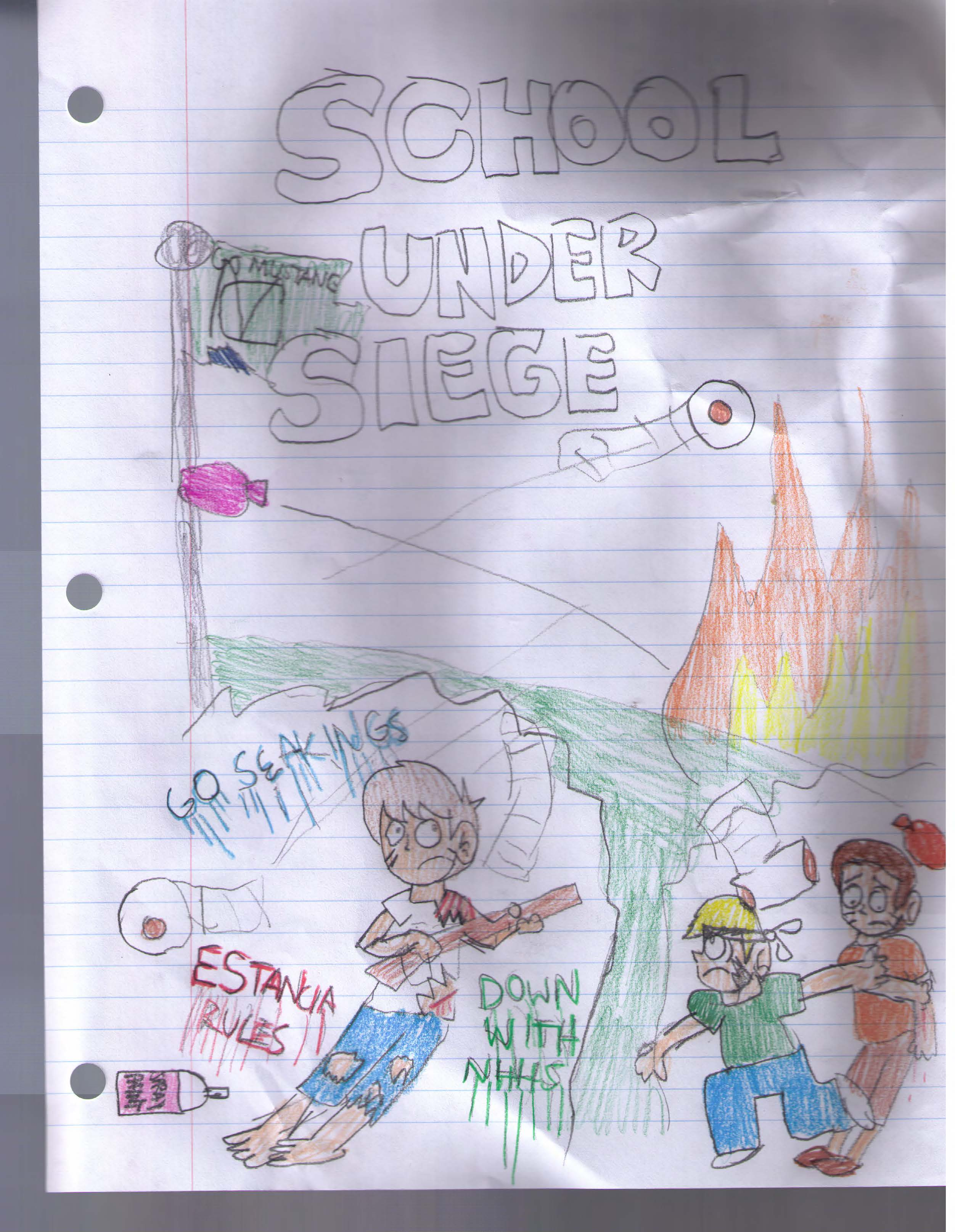 School Under Siege Preview