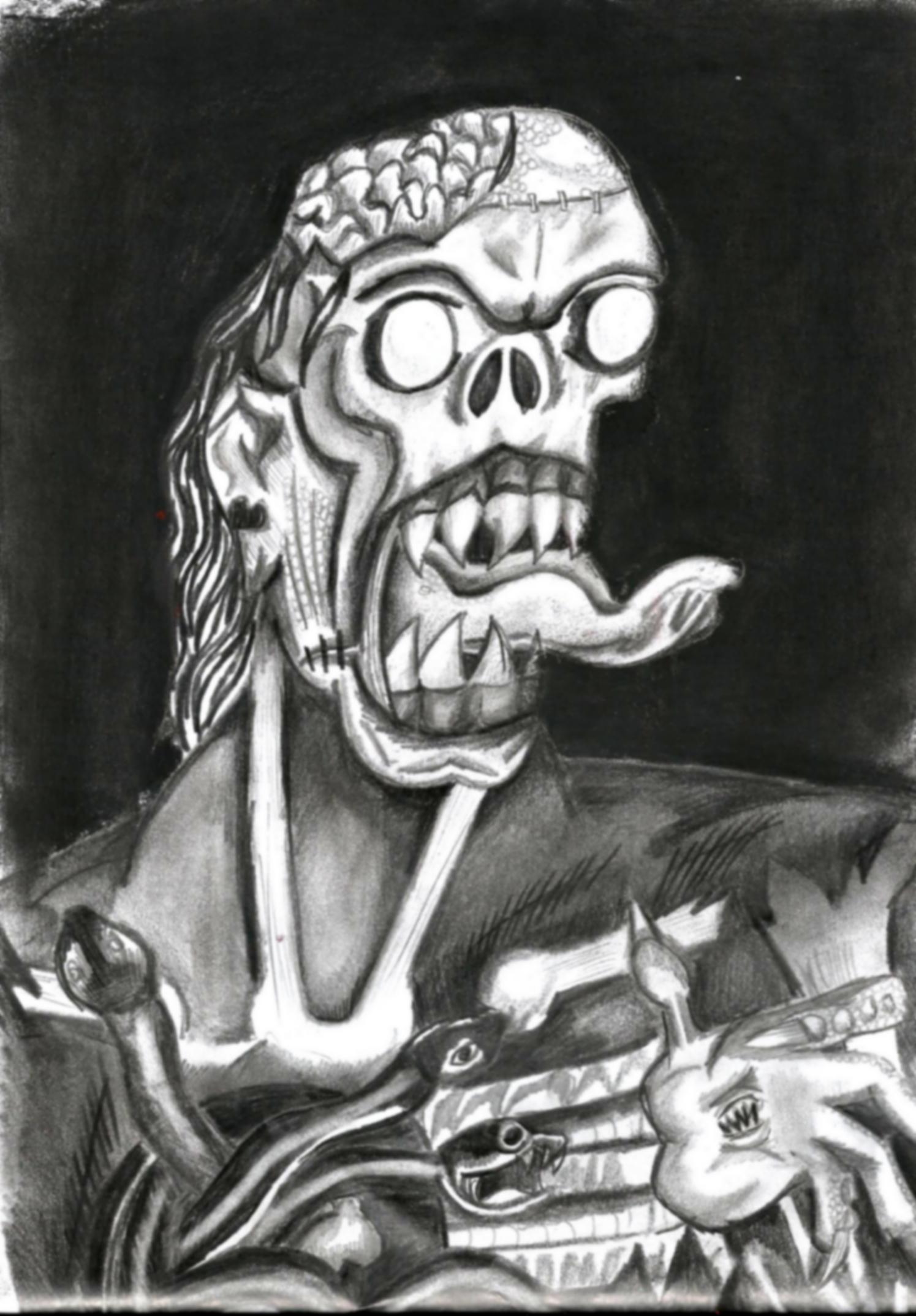Nightmare monster