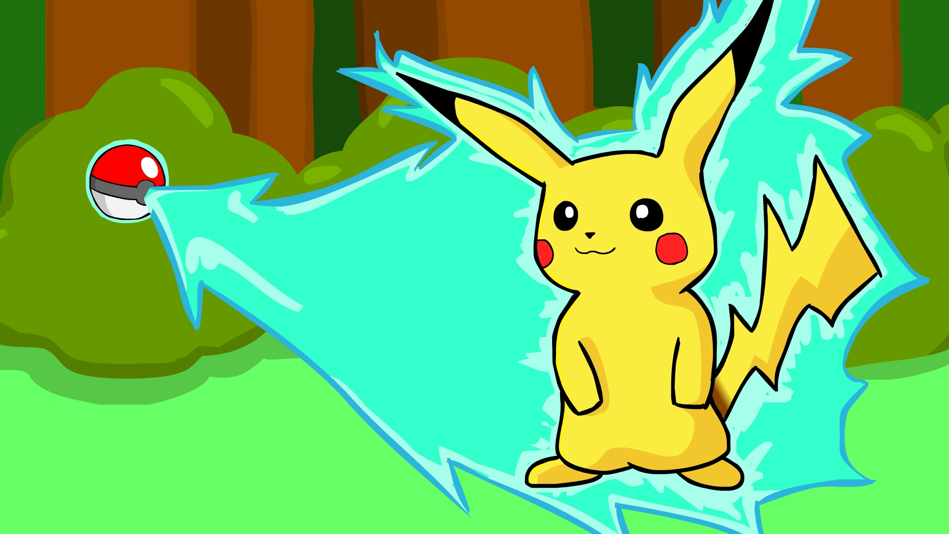 Pokemon Art: Pikachu